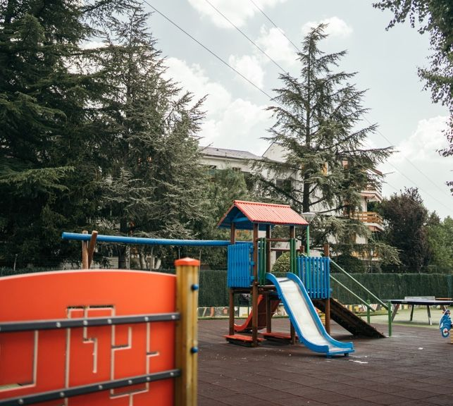 Parque Infantil en Restaurante Sala Guadarrama