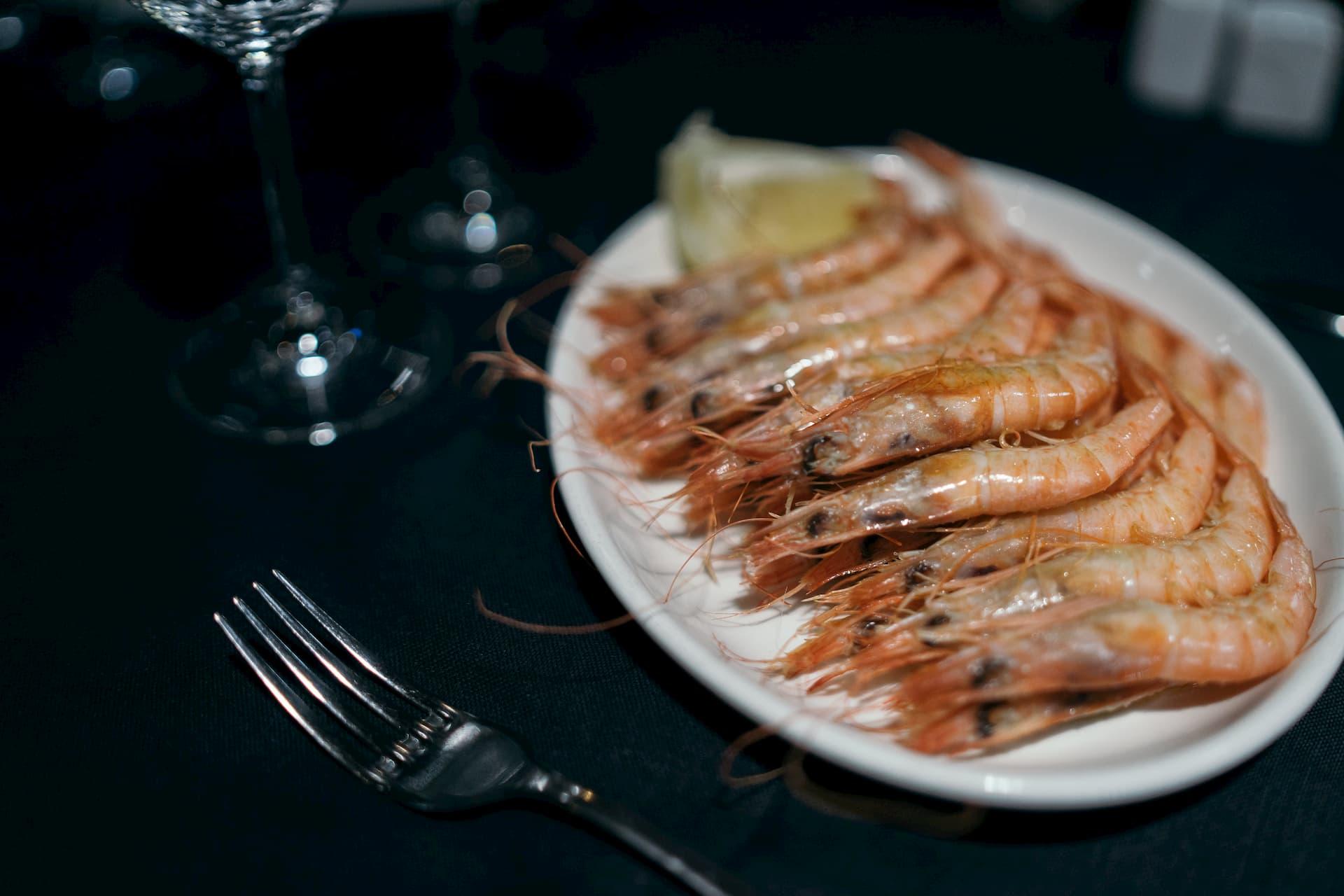 Gambas A La Plancha Madrid Restaurante Guadarrama