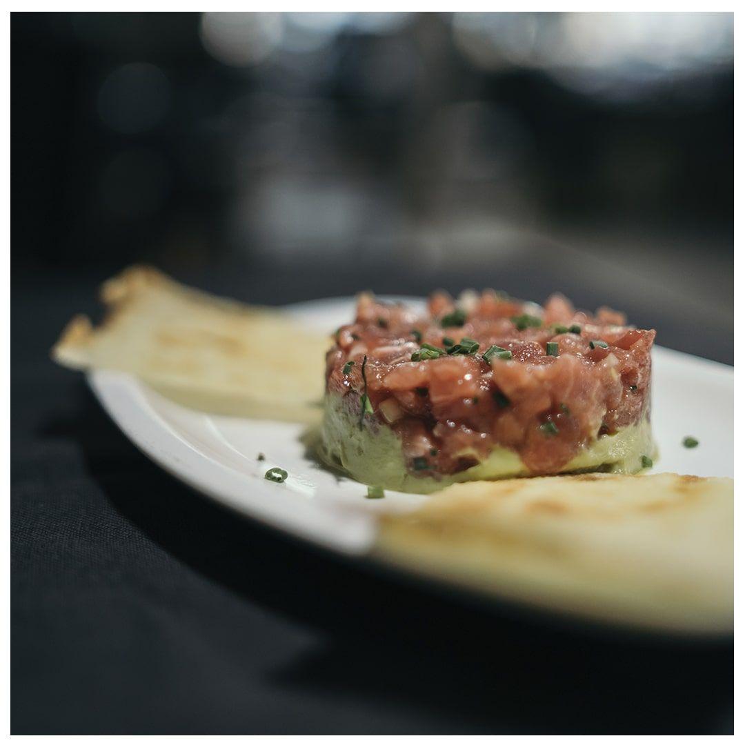 Receta Tartar de Atún Restaurante Sala
